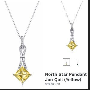 Swarovski North Star Pendant Necklace